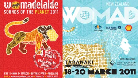 Flyer: WOMAD Festival 2011